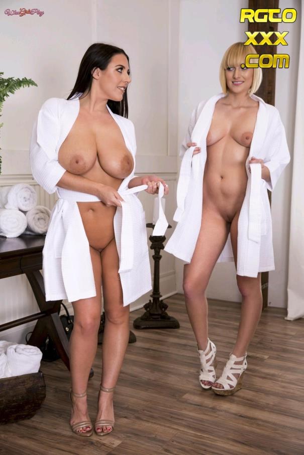 Angela White, Kate England [WhenGirlsPlay.com] Spa Day [2017/SD]