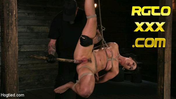 Lilith Luxe [HogTied.com] Pain Slut Lilith Luxe Cums Relentlessly from Torment and Rope Bondage! [2017/HD]