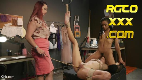 Kira Noir, Eliza Jane, Bella Rossi [KinkFeatures.com] HUSH Ep 5: Eliza Jane Tied Up, Tied Down And Fucked At Work [2018/HD]