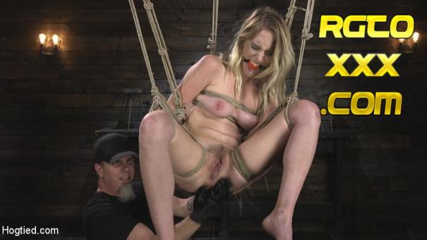 Cadence Lux, The Pope [HogTied.com] All Natural Cadence Lux Torment in Rope Bondage and Squirting Orgasms! [2018/HD]