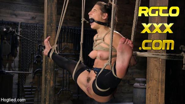 Abella Danger, The Pope [HogTied.com] Hot Body Abella Danger Disciplined and Made to Cum in Rope Bondage!! [2018/HD]