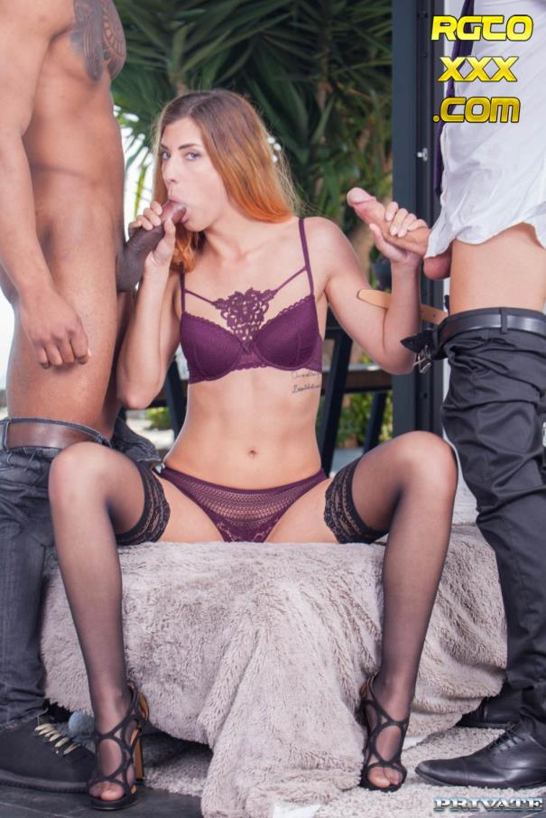 Shona River [Private.com] Shona River debuts for Private in an interracial threesome [2018/FullHD]