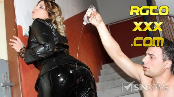 Kattie Hill [PervyOnes.com] FemDom Bitch Demands Oil And Cock From Her Submale! [2018/SD]