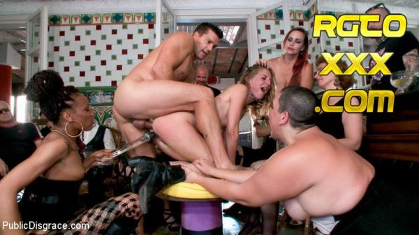 Ramon Nomar, Nikki Darling, Bella Rossi, Mimosa, Mona Wales: Fancy Party Interrupted To Tame The Feral Princess of Filth! [2018/HD/PublicDisgrace]