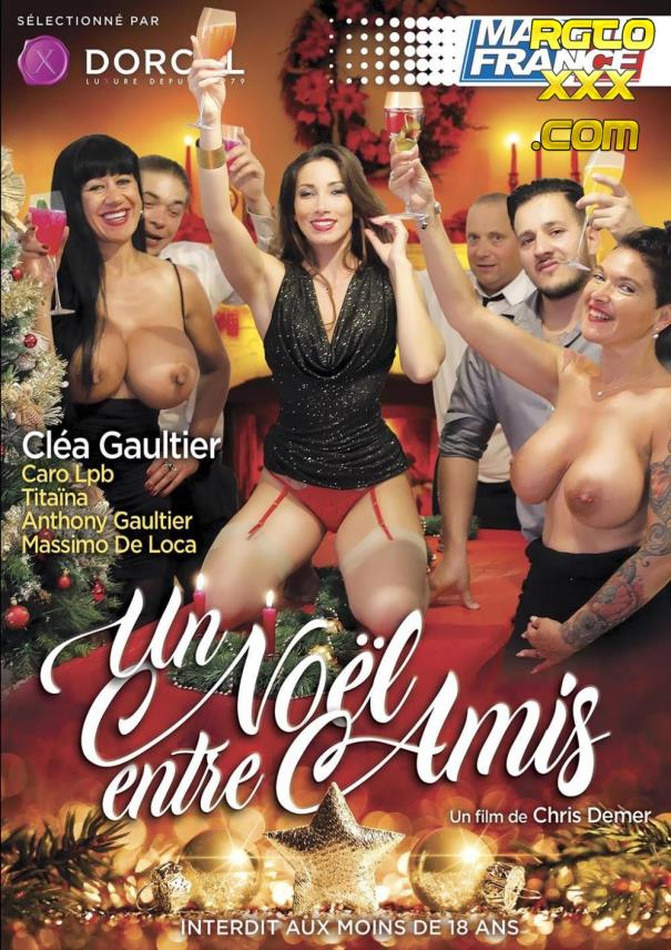 Clea Gaultier, Caro LPB, Titaina: Un noel entre amis [2018/SD/Marc Dorcel / Made in France]